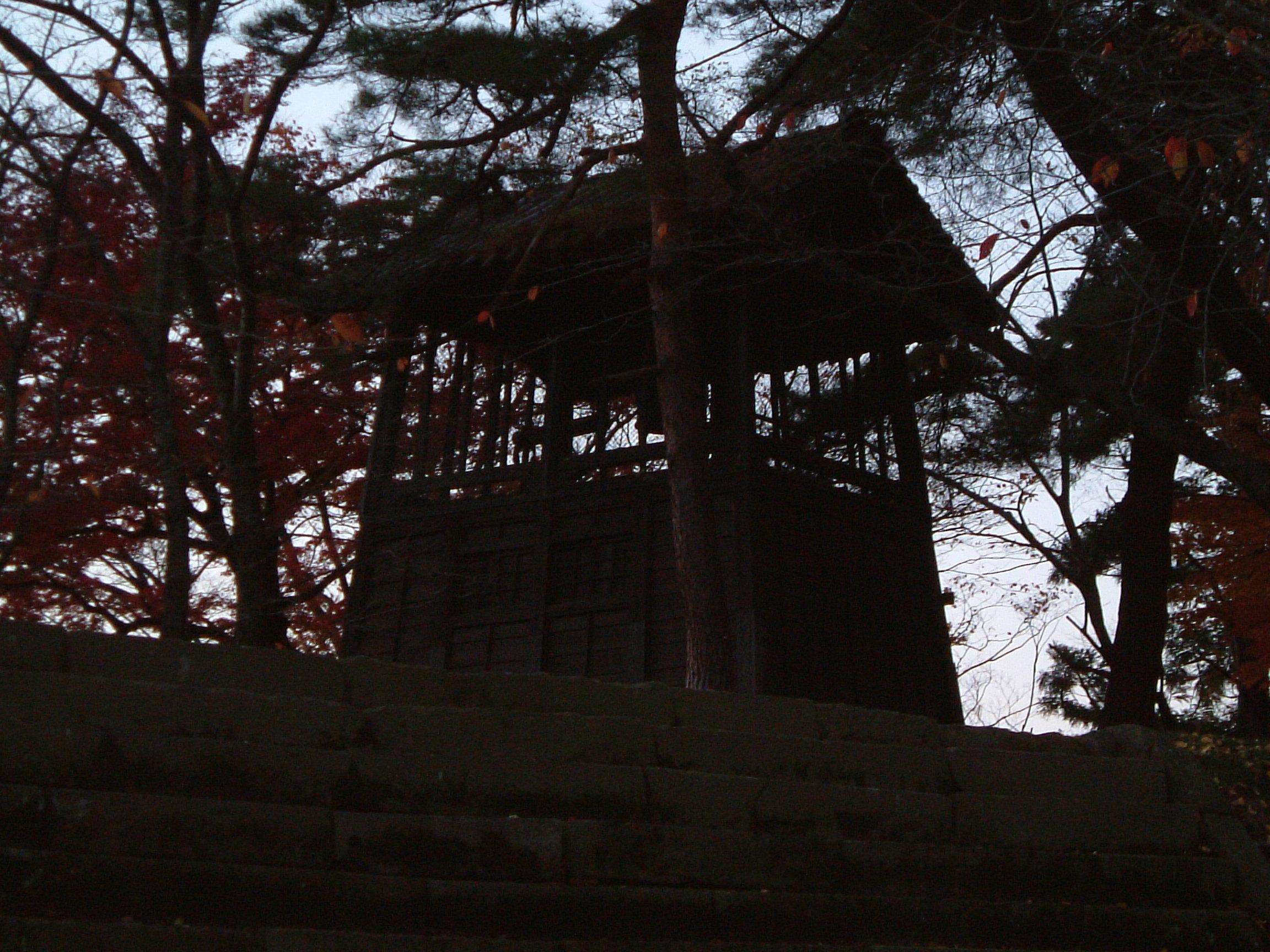 会津 鶴ヶ城 鐘撞堂(かねつきどう)